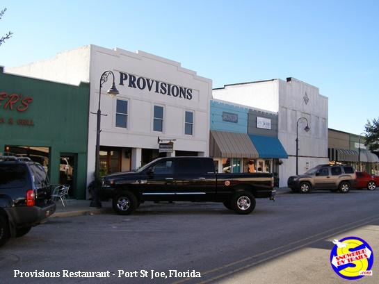 Provisions Restaurant in Port St Joe, Florida
