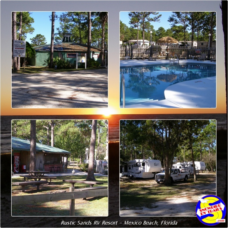 Rustic Sands RV Resort in Mexico Beach, Florida