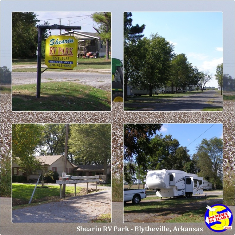 Shearin RV Park in Blytheville, Arkansas