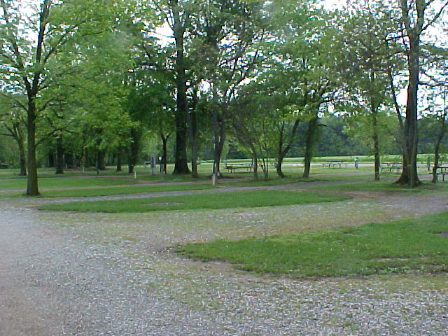 Long pull-thru sites at Timber Trails Campground