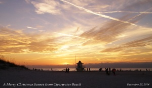 Life is good in a Paradise called Clearwater Beach, Florida..