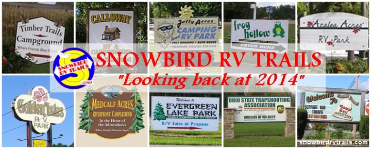 Snowbird RV Trails 2014 in Review