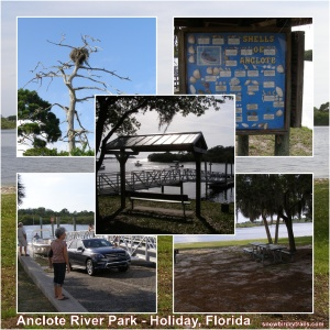 The Anclote River Park in Holiday Florida