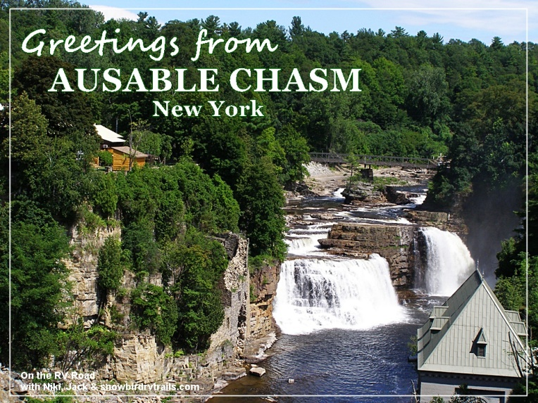 Ausable Chasm is the