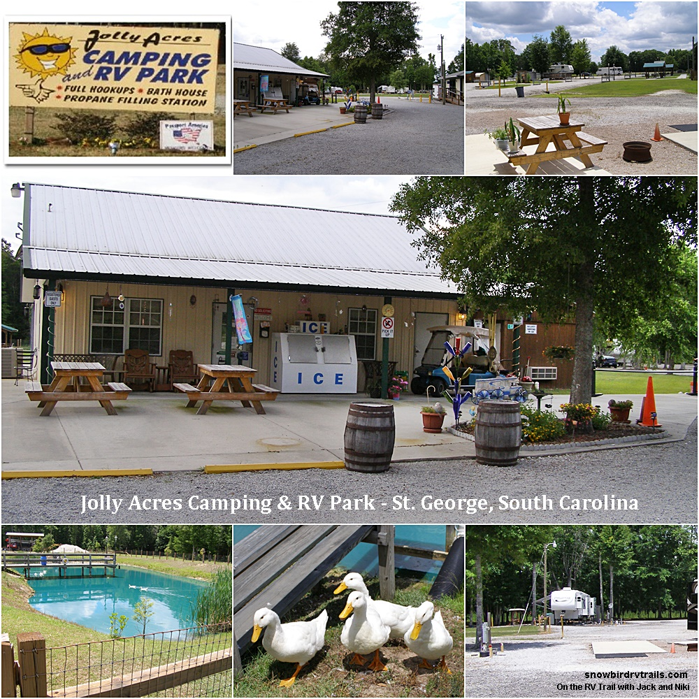 Jolly Acres RV Park in St. George, South Carolina