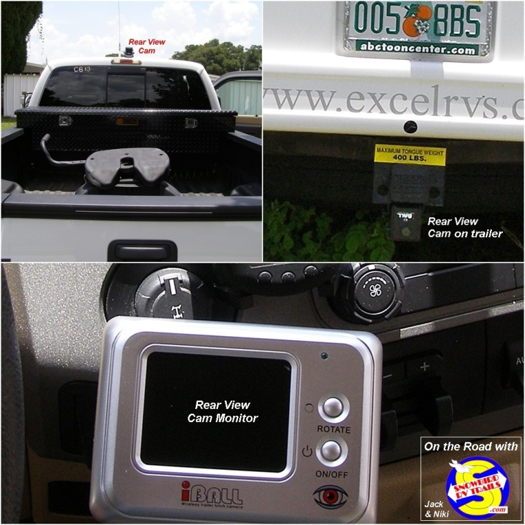 Give your Navigator a break and use a back-up camera on your RV