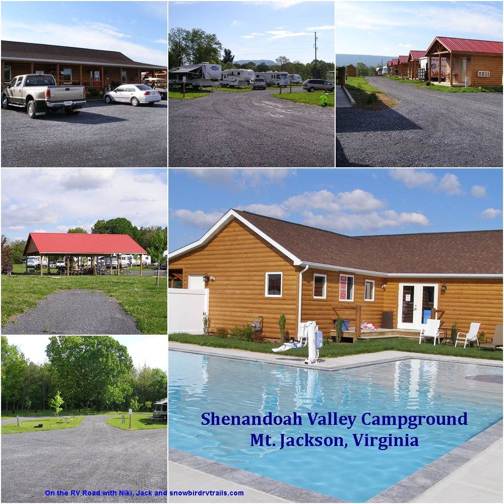 Shenandoah Valley Campground in Mt. Jackson, Virginia