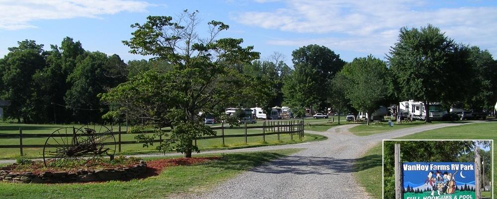 VanHoy Farm Family Campground - Harmony, North Carolina