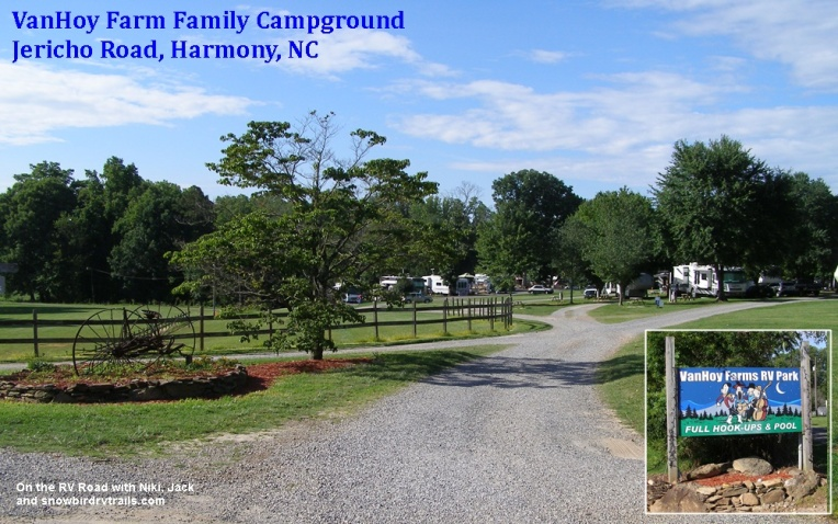 VanHoy Farm Family Campground - Harmony, North Carolina