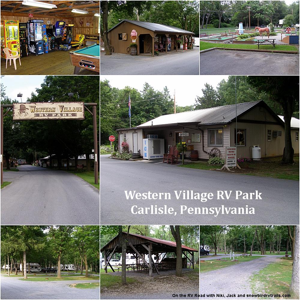 Western Village RV Park in Carlisle, Pennsylvania