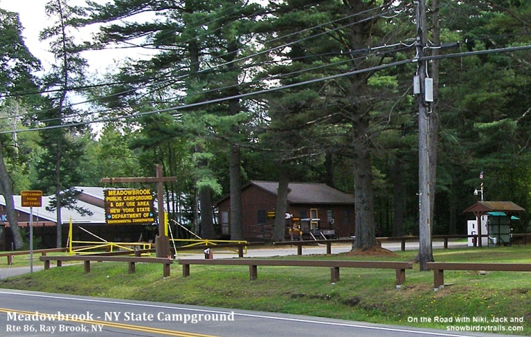 Meadowbrook is a NYS Campground