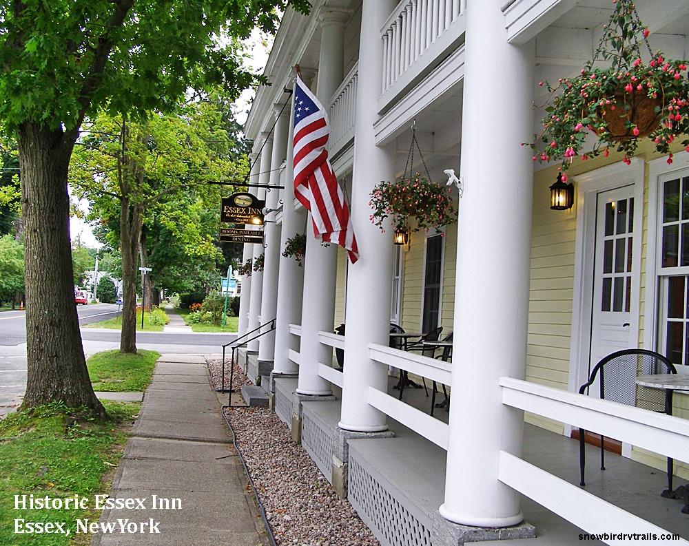 The Historic Essex Inn in Essex, New York