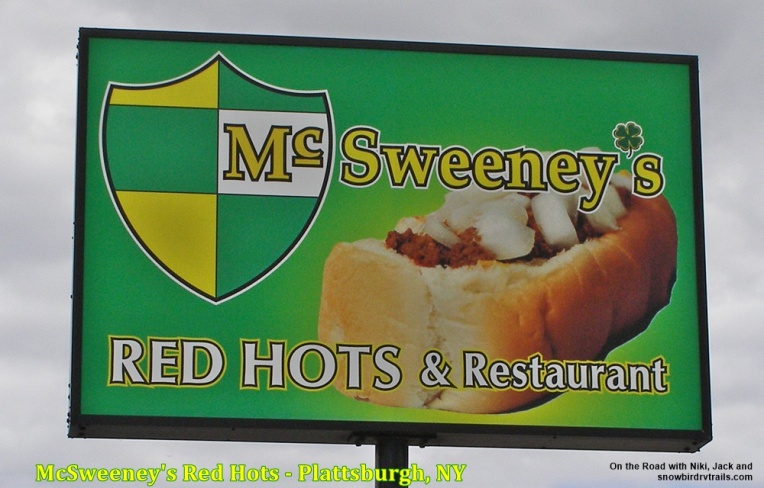 McSweeneys Red Hots - 3 locations  in Plattsburgh, NY