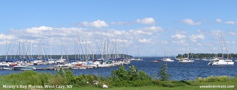 Monty's Bay,West Chazy, NY on Lake Champlain