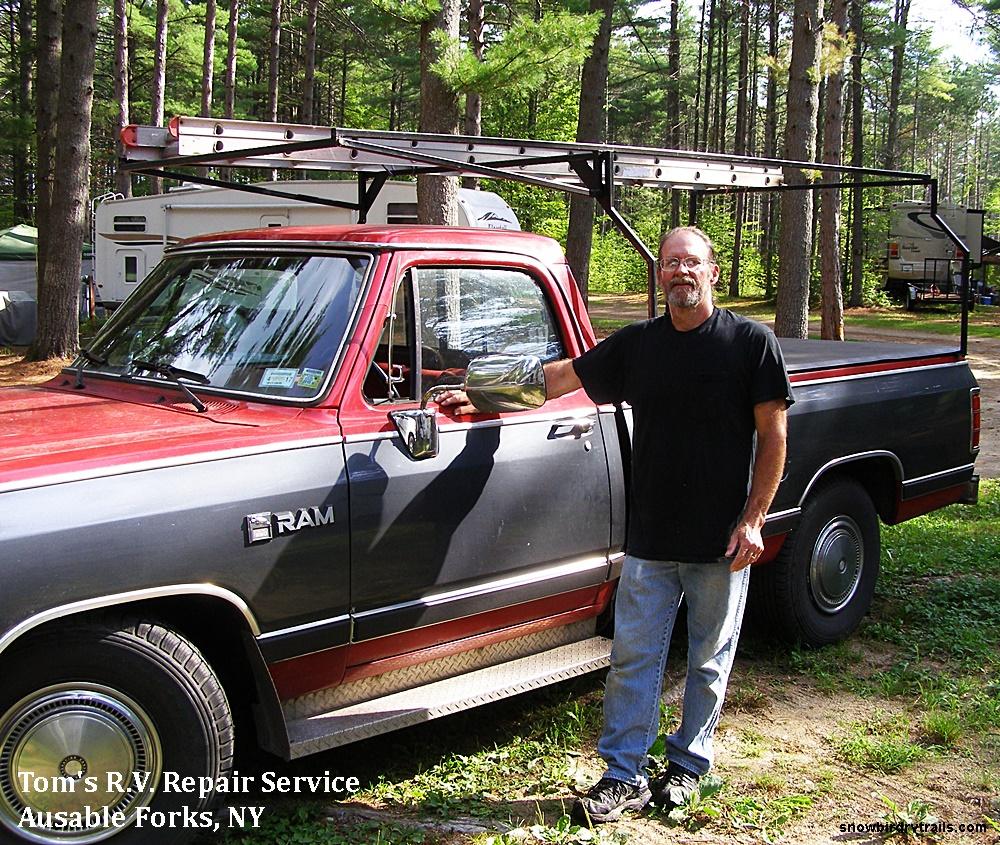 Tom's R.V. Repair in Ausable Forks, NY