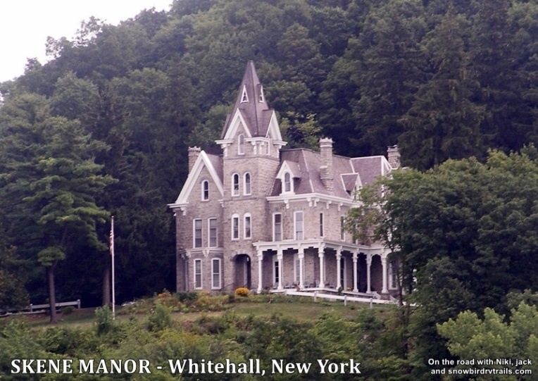 Skene Manor a Victorian Gothic treasure in Whitehall, NY