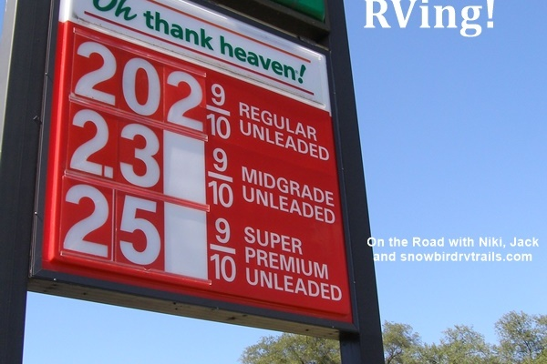 Oh thank Heaven for lower gas prices!