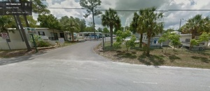 Gulf Breeze RV Park Entrance on Google Maps