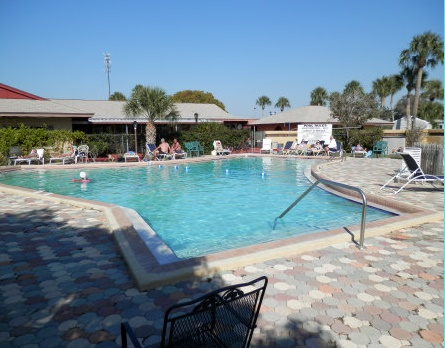 Holiday Travel Park swimming pool