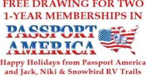 Free Passport America Membership Drawing