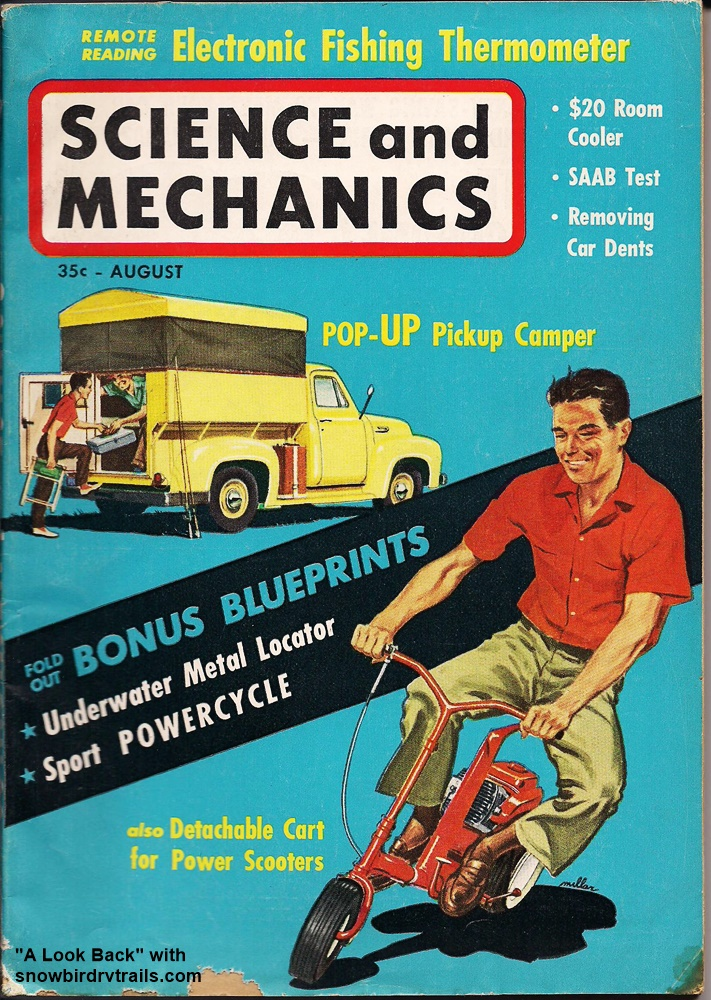 Science and Mechanics Magazine - August 1960